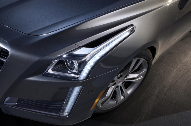 2014 Cadillac CTS - headlamps
