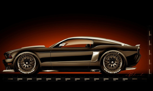 Mustang Hollywood Hot Rods